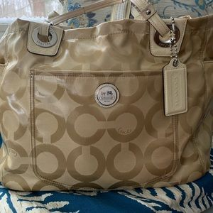 Coach Baby Bag Authentic Great Used Condition!